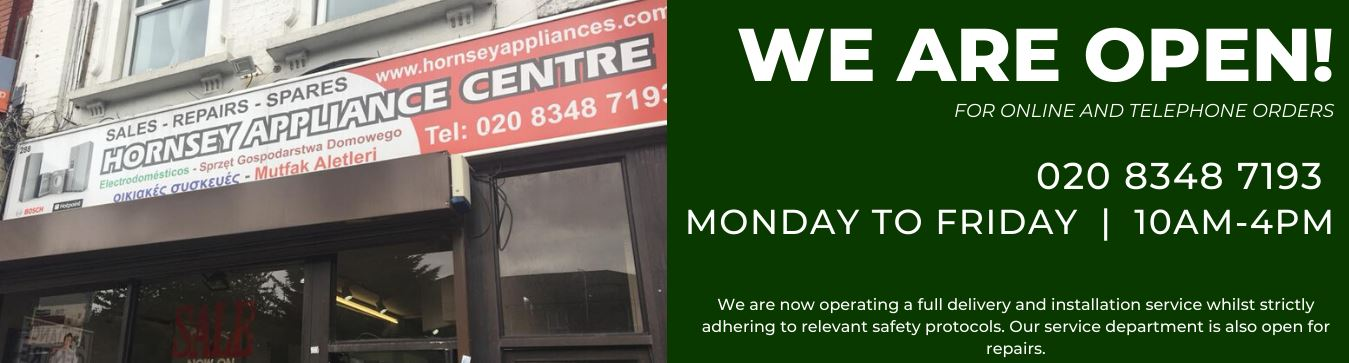 Hornsey Appliances Open